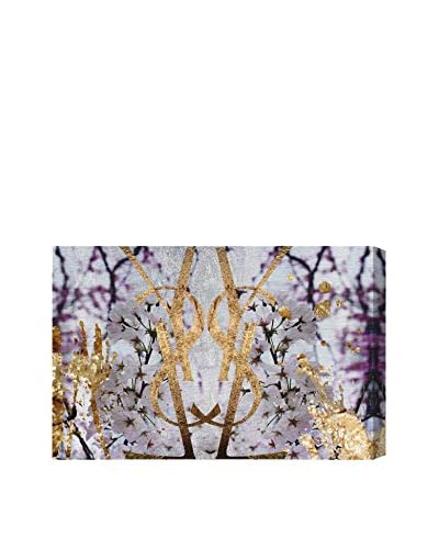 Oliver Gal Botanical Couture Canvas Art