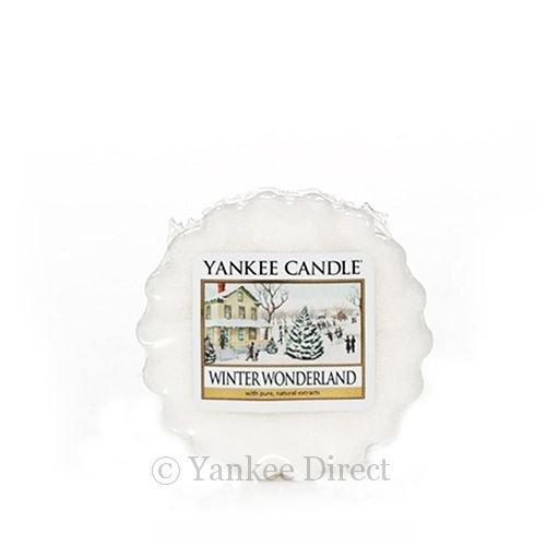 Yankee Candle Wax Tart (Winter Wonderland) - Single