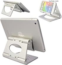 First2savvv multi-angle Luxury Polished Stainless Steel Stand desktop dock docking station for Samsu