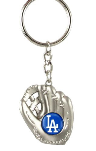 Los Angeles Dodgers - MLB Silver Baseball Glove Keychain at Amazon.com