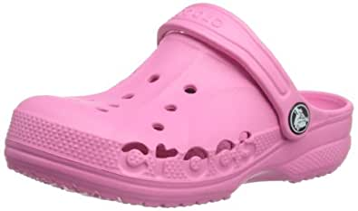 Crocs Baya, Unisex-Child Clogs, Pink Lemonade, 10/11 UK Child