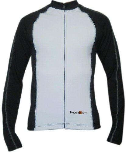 Buy Low Price Funkier Bike Men's Microfleece Long Sleeve Jersey (Men's Microfleece Jersey-P)