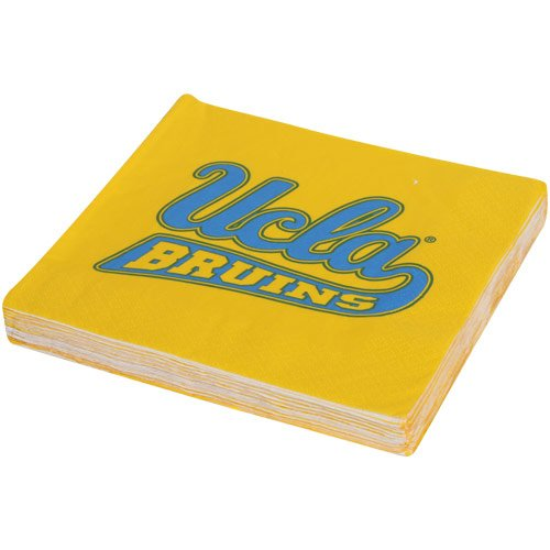 Mayflower Distributing Company 24 Count UCLA Beverage Napkin, Multicolor