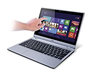 Acer Aspire V5-122P-0857 12-Inch Touchscreen Laptop  Chill Silver