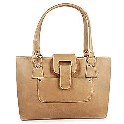 10th Planet Women's Handbag (Beige) (GM10644)