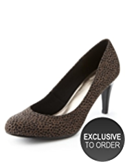 M&S Collection High Heel Court Shoes with Insolia®