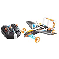 Hot Wheels Street Hawk Remote Control Flying Car, Frustration Free Packaging