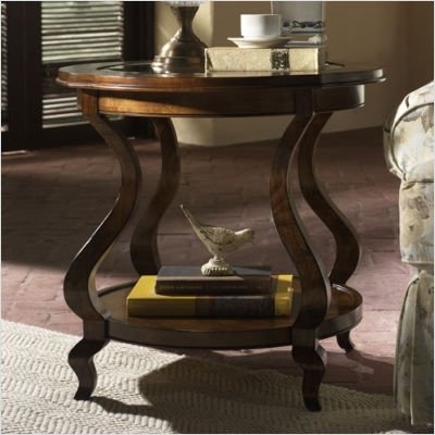 Cheap Hammary T1056535-00 Avignon Round End Table in Cognac (T1056535-00)