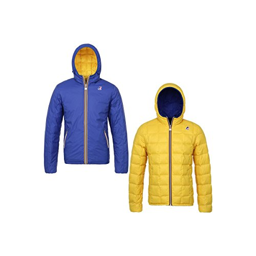K-Way JACQUES THERMO PLUS DOUBLE ROYAL-YELLOW MUSTARD