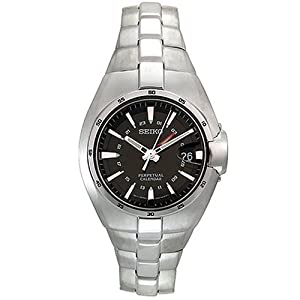 Click to buy Seiko Watches for Men: SLT081 Perpetual Calendar Watch from Amazon!