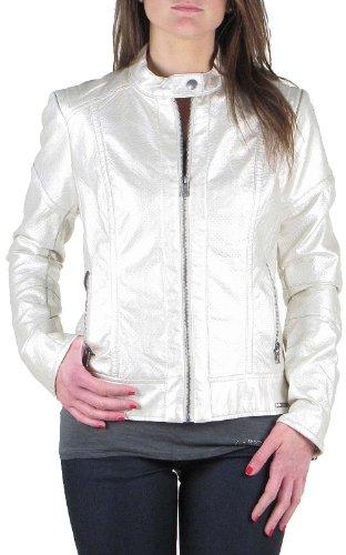 Guess W42L08 W54H0 MADELEINE JACKET B018 giacca crema