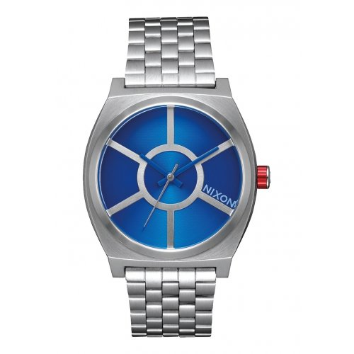 Reloj Nixon Star Wars R2D2 Blue A045SW2403 Mujer Acero Plateado