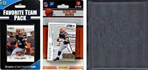 NFL Cleveland Browns Licensed 2012 Score Team Set and Favorite Player Trading Card... by C&I Collectables