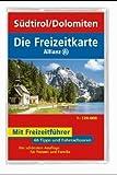 Die Freizeitkarte Allianz, Bl.43, Südtirol, Dolomiten