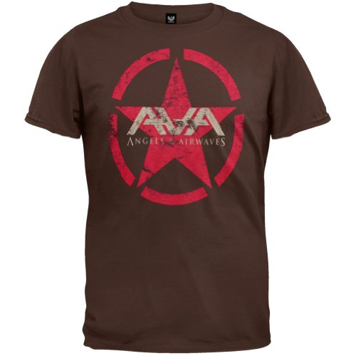 old-glory-angels-airwaves-red-star-soft-youth-t-shirt-large-dark-brown