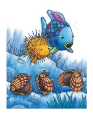 Marcus Pfister The Rainbow Fish IV Foil Art Print Poster - 16x20