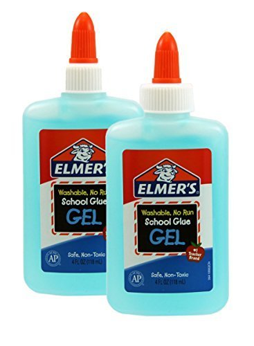 Elmers Washable No Run Gel School Glue (Pack of 2) by Unknown