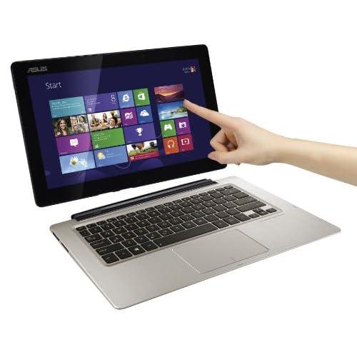 ASUS TX300CAシリーズ NB / Silver ( Win8 64bit / 13.3inch FHD touch  / i5-3317U / 128G SSD (pad) + 500G (docking) ) TX300CA-C4006H