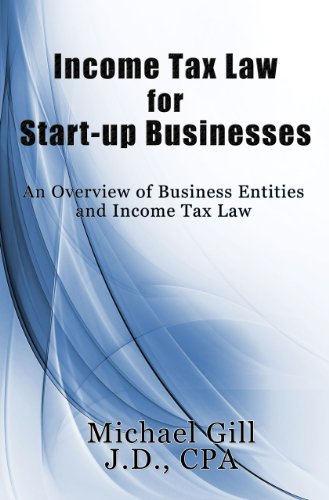 Income Tax Law for Start-Up Businesses: An Overview of Business Entities and Income Tax Law
