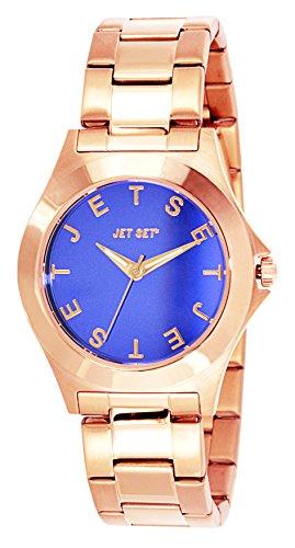 Jet Set J5979R-332 - Orologio da polso donna, acciaio inox, colore: rosa