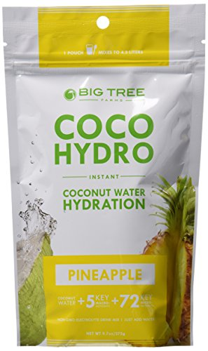 Coco Hydro Instant Coconut Water, Pineapple, 9.7-Ounce Package (Coconut Hydration Mix compare prices)
