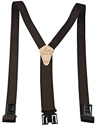 Perry Products SN200 Men\'s Clip-On 2-in Suspenders(Regular, Brown)