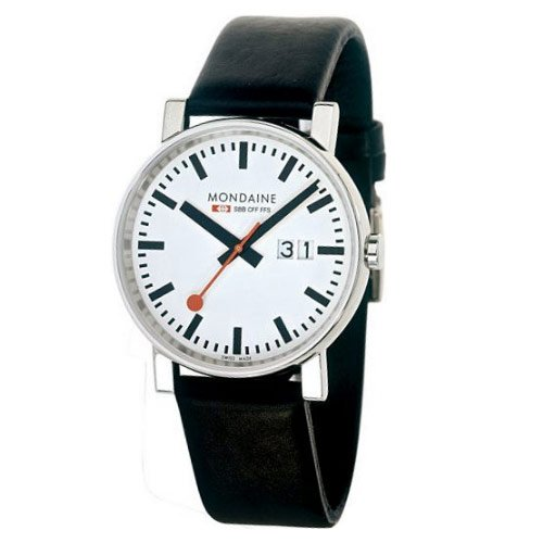 Mondaine Gents Automatic Leather watch