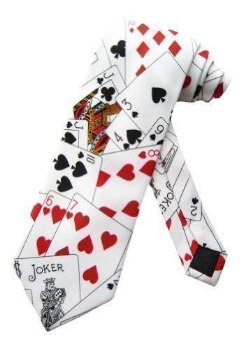 sock-snob-corbata-con-motivo-de-poker-y-casino-talla-unica-blanca