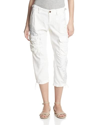DA-NANG Women's Surplus Embellished Crop Pants