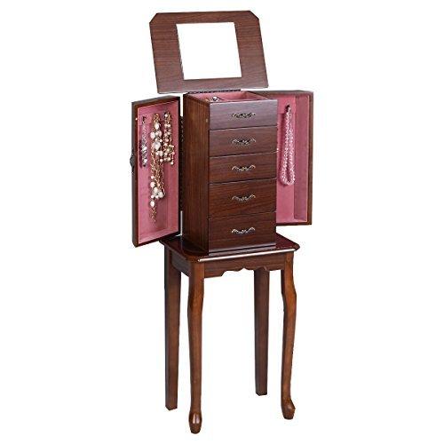jewelry-cabinet-armoire-storage-chest-stand-organizer-wood-box-walnut-by-jdm-auto-lights