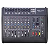 Seismic Audio - LandSlide-8P - 8 Channel DSP Professional Powered Mixer - Power