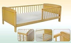 Kidsmax Kinderbett MINI 140x70cm Kiefer massiv