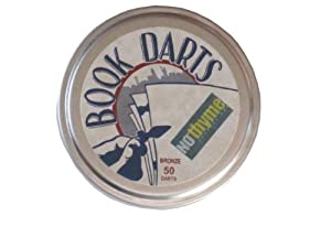 Book Darts 50 Bronze Line Markers