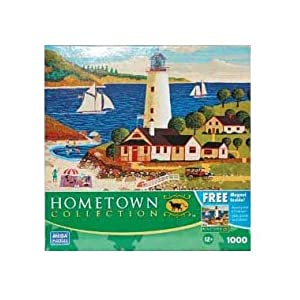 HOMETOWN COLLECTION Outing at the Light 1000 Piece Puzzle