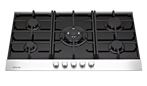 Millar gh9051tdb table de cuisson au gaz en verre 5 for Nettoyage plaque cuisson verre