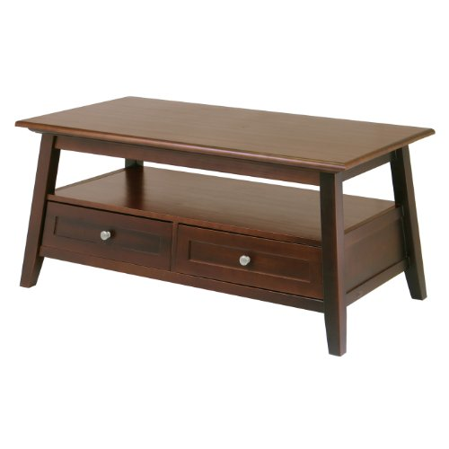 Buy Low Price Winsome Wood Angolo Coffee Table B0012an2pc Coffee Table Bargain