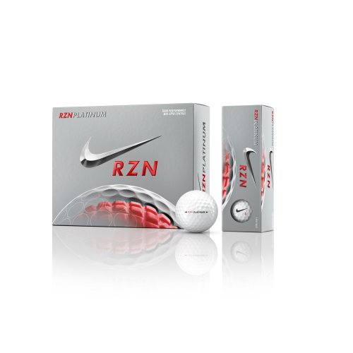 Nike Golf RZN Platinum Golf Balls, White (Maxfli Irons compare prices)