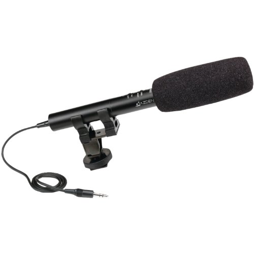Azden Sgm-990 Dslr Shotgun/Omni Microphone (Black)