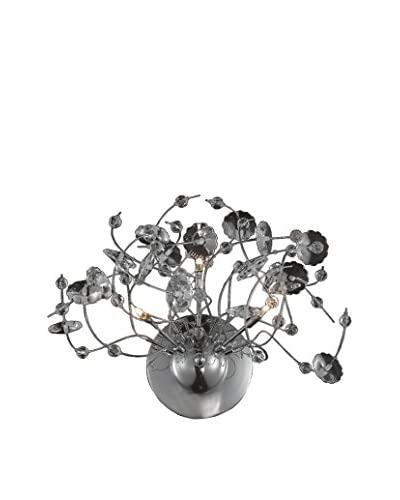 Light Points Iris Wall Fixture, Chrome