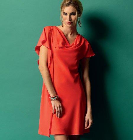 Butterick B5883 Misses Dress (Size 16, 18, 20, 22, 24) Design By Suzi Chin ~ Sewing Pattern