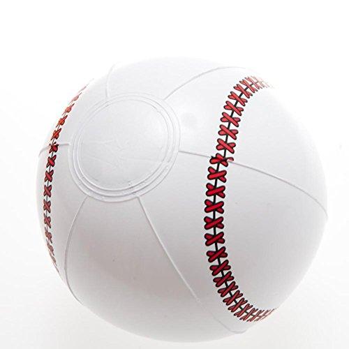 Mini Baseball Beach Balls - 1