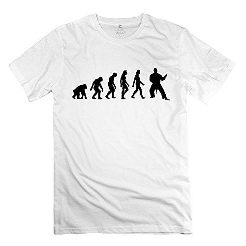 Zhitian Men'S Evolution Judo T-Shirt - S White