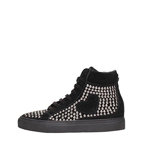 Twin-Set CTA4UC Sneakers Donna Tessuto Nero Nero 36