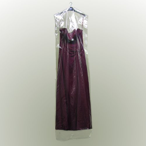 Want 6 Clear Polythene Garment Covers - 72