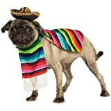 Rubies Costume Halloween Classics Collection Pet Costume, Small, Mexican Serape