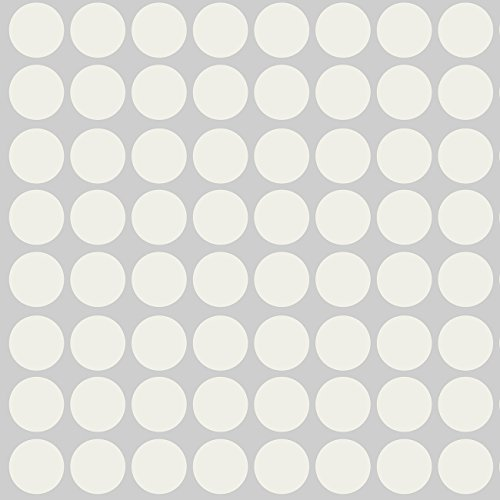 Sweet Potato Warm Vinyl Decals, Grey Dot - 1