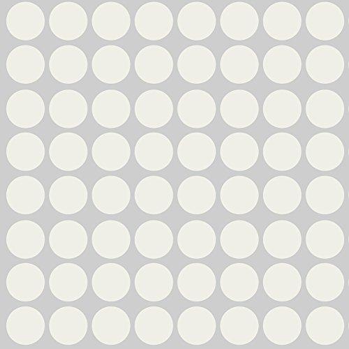 Sweet Potato Warm Vinyl Decals, Grey Dot