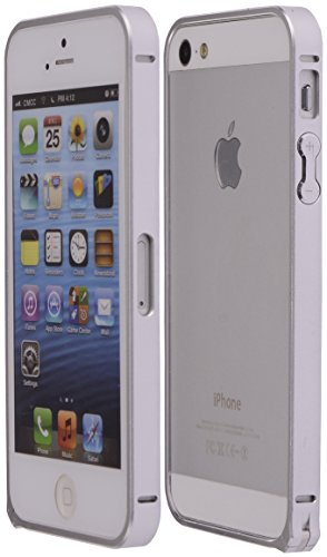 Boilfish,Iphone 5S,5,Metal Aluminum Alloy Bumper Clasp Case,Silver