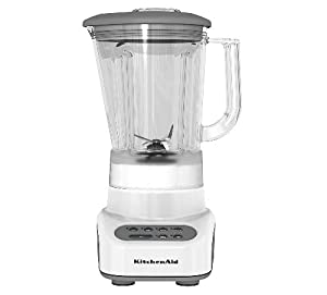 KitchenAid KSB465WH 4-Speed Countertop Blender with 48-Ounce Polycarbonate Jar, White