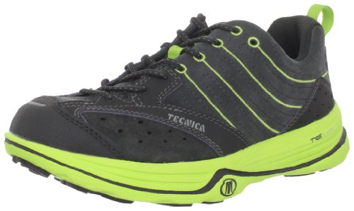 Tecnica Women's Dragon X Lite WS Trail Running Shoe,Dark Grey/Lime,8.5 M US